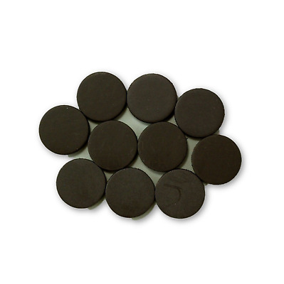 5/8 Inch Disc Round Ceramic Mini Small Magnets 10 Pieces