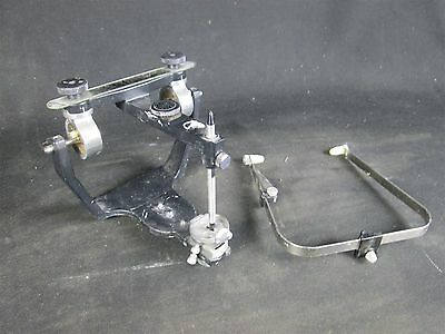 Hanau Wide-Vue Dental Laboratory Articulator for Occlusion w/ Facebow
