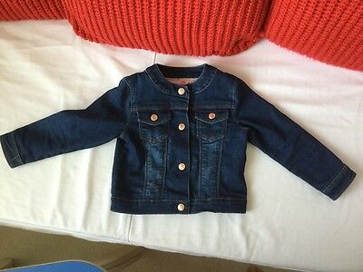 Girls Ted Baker Denim Jacket Age 18-24 months