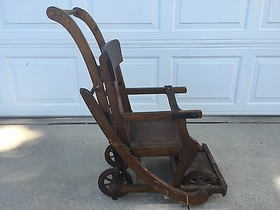 """Antique Stroller Rocker High Chair by """"Old Reliable Lullabye"""""""