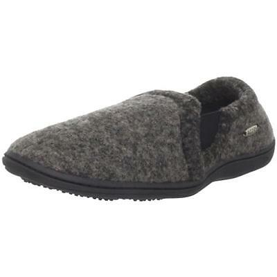Acorn 0561 Mens Davin Gray Casual Loafer Slippers Shoes L 10.5-11.5 BHFO