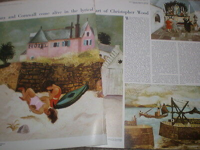 Article Brittany and Cornwall lyrical art of Christopher Wood 1965
