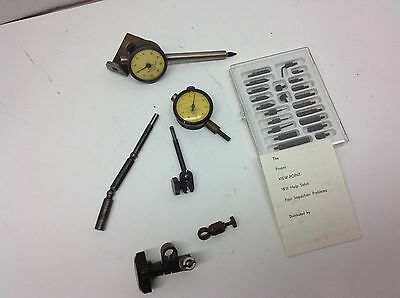 Machinist Federal Dial Indicators/ Indicator Point Set / Parts & Peices