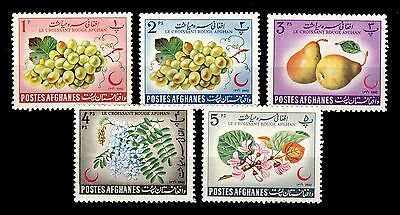 AFGHANISTAN - 1962 - Mi.685A/9A Croissant Rouge / Red Crescent - Neuf / Mint *
