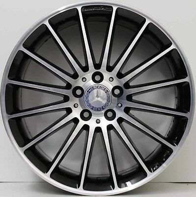 Rare 19inch mercedes benz style amg 63 current c e class for Mercedes benz 19 inch amg wheels