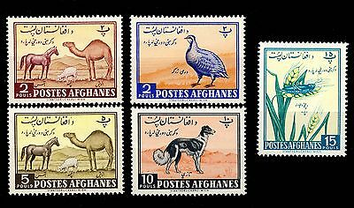 AFGHANISTAN - 1961 - Mi.520/4 Agricultural Day issue - Neuf / Mint *