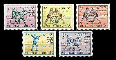 AFGHANISTAN - 1961 - Mi.540/4 UNESCO Set - Neuf / Mint*
