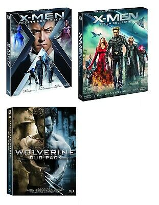 X-MEN THE COMPLETE COLLECTION 8 FILM (8 BLU-RAY) Hugh Jackman, Jennifer Lowrence