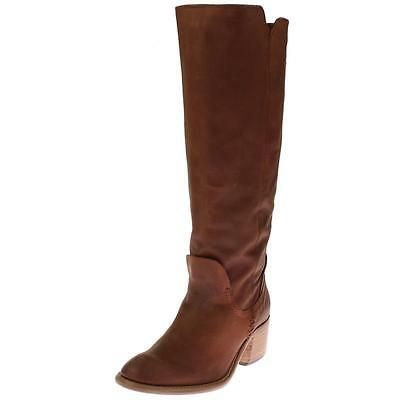 Dolce Vita 6265 Womens Gage Brown Knee-High Boots Shoes 6 Medium (B,M) BHFO