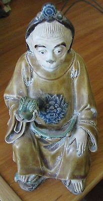 China Chinese Qing Dynasty Porcelain Pottery Statue of Monkey Man