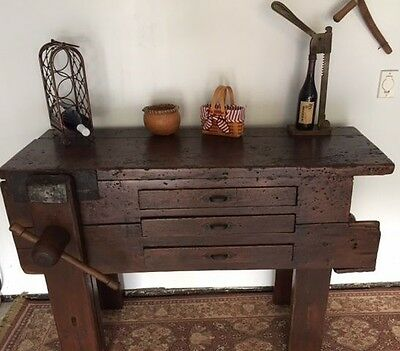 Antique Wine Bar, Kitchen Island, Sideboard Workbench