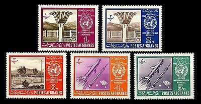 AFGHANISTAN - 1963 Mi.764A/8A World Meteorological Day - Neuf/Mint *