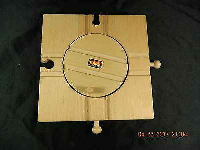 Genuine BRIO Sweden Wooden Train  Turntable Compatible with Thomas the Train