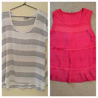 Maternity and nursing tops size XS