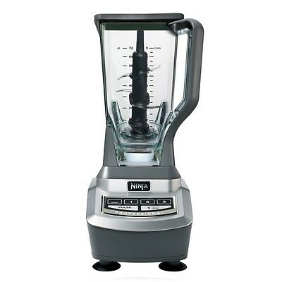 Kitchen Decor Professional Silver Metal Blender with Touchpad Single Serve NEW