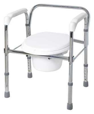 5XTD7 Commode w/Backrest