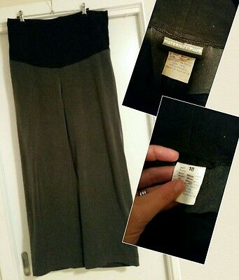 Grey Maternity Workpants size 18 (would fit a 16 as large sizing)