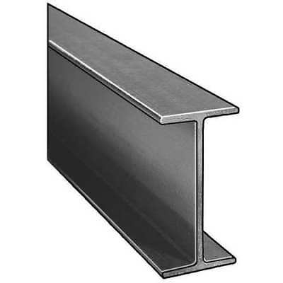 DYNAFORM 871180 I-Beam, ISOFR, Gray, 6x3 In, 1/4 In Th, 10 Ft