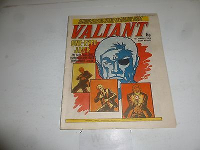 VALIANT Comic - Date 10/01/1976 - IPC UK Comic