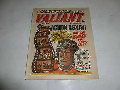 VALIANT Comic - Date 24/01/1976 - IPC UK Comic