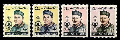 AFGHANISTAN - 1962 Mi.695A/8A Scouts Issue - Neuf/Mint *