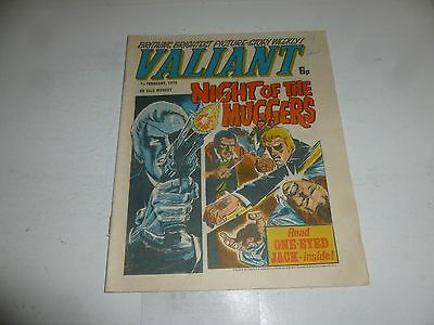 VALIANT Comic - Date 07/02/1976 - IPC UK Comic