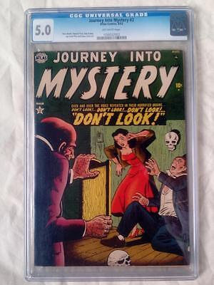 Journey Into Mystery #2 Cgc 5.0 Ow/pages ! (1952)