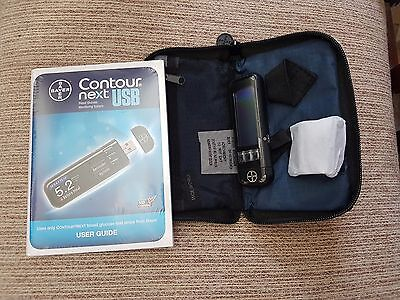 Bayer Contour Next USB Blood Glucose Monitoring Monitor/Meter **BRAND NEW**