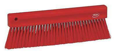 VIKAN 45824 Bench Brush, Red, Polyester, 13In.