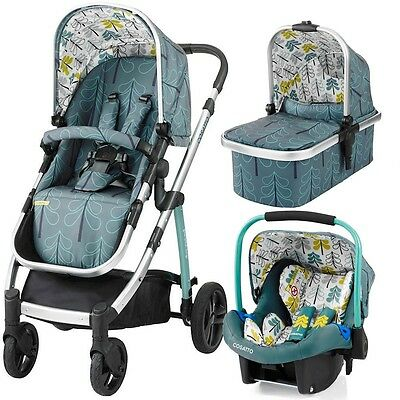 Cosatto Wow Travel System Pram And Pushchair Car Seat Fjord Brand New Boxed