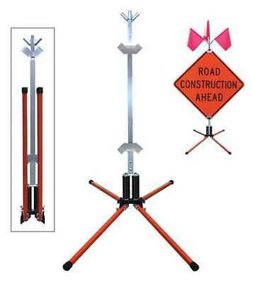 DICKE STF18-RGB Sign Stand,Rigid,Steel,36 In.