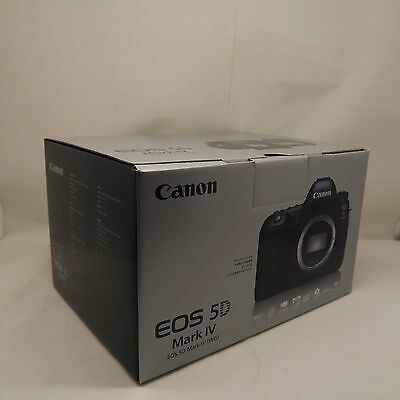 NEW Canon EOS 5D Mark IV 30.4MP DSLR Camera Body Only +3 Years Warranty IN UK