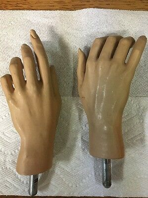 PAIR OF Ladies  VINTAGE MANNEQUIN HANDS