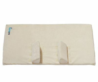 Crib Wedge and Sleep Positioner Baby Hiccapop BabyWith Anti Roll Pillow Bumpers