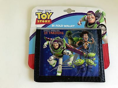 Toy Story Bifold Wallet Sesame Street Ages 3+  Great Gift !! New