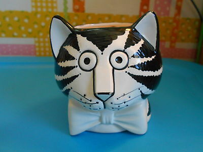 B. KLIBAN Vintage Mug of Cat Sigma HAS 2 SMALL CHIPS ON TIP  NOSE Good Condition