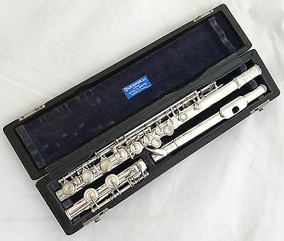 Antique French Silvered Marcel Moyse Couesnon Flute No.15355 - year 1935