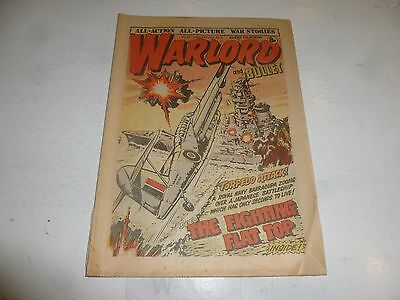 WARLORD & BULLET Comic - Issue 231 - Date 24/02/1979 - UK Paper Comic