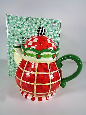 Mary Engelbreit Twas Tea Pot Christmas 2004 Set 118541