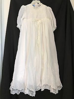Will Beth Cristening Gown Baby Baptismal 2 pc 18 24 months