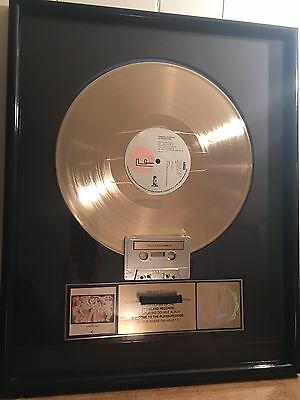 "Frankie Goes To Hollywood RIAA Gold Record Plaque ""Welcome To The Pleasuredome"""