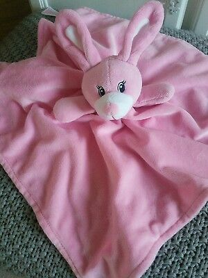 Primark Early Days Pink Bunny Rabbit Baby Large Comforter Soft Toy