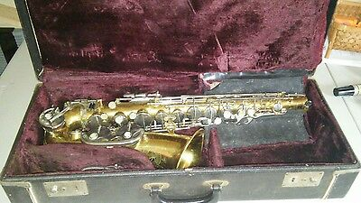 Rare Vintage Evette & Schaeffer By Buffet Saxophone NEED REPAIR