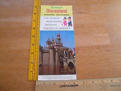 Disneyland 1960's Southern California tourist brochure Knotts Berry Farm