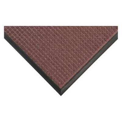 Carpeted Entrance Mat,Burgundy,4ft.x6ft. CONDOR 36VK09