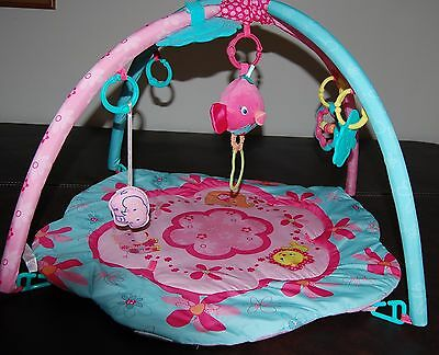 Kids II Bright Start Baby Girl Play Mat Baby Gear Baby Gyms & Play Mats & Toys