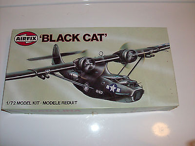 """Airfix PBY-5A Catalina """"Black Cat"""" Series 5    1:72  Scale  Model Kit"""