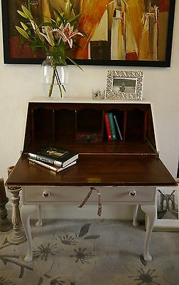 Vintage Writing Bureau Hand Painted Lovely Condition