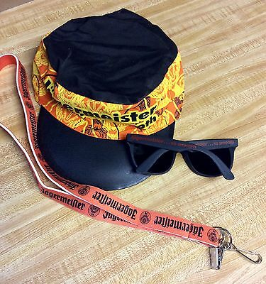 Jagermeister Hat Lanyard  Sunglasses And More Promo Jager Collectable