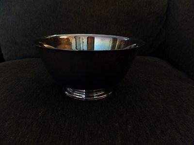 Paul Revere Reproduction Lancaster Silver Co Silver Bowl